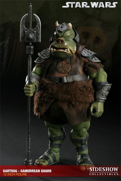 Sideshow - Gartogg Gamorrean Guard 12-inch & Jabba's Palace 10000610