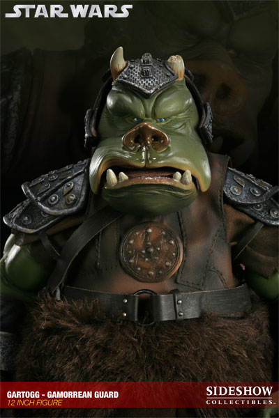 Sideshow - Gartogg Gamorrean Guard 12-inch & Jabba's Palace 10000612