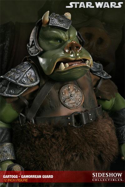 Sideshow - Gartogg Gamorrean Guard 12-inch & Jabba's Palace 10000613