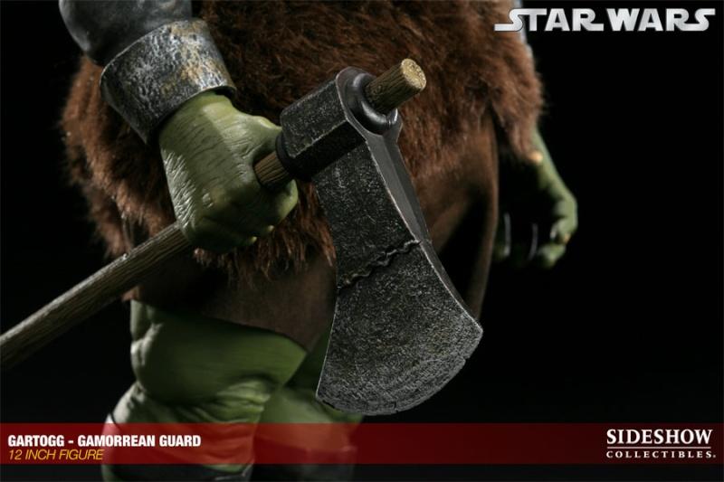 Sideshow - Gartogg Gamorrean Guard 12-inch & Jabba's Palace 10000615
