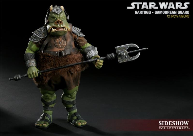 Sideshow - Gartogg Gamorrean Guard 12-inch & Jabba's Palace 10000616