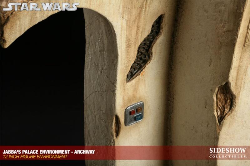 Sideshow - Gartogg Gamorrean Guard 12-inch & Jabba's Palace 10005113