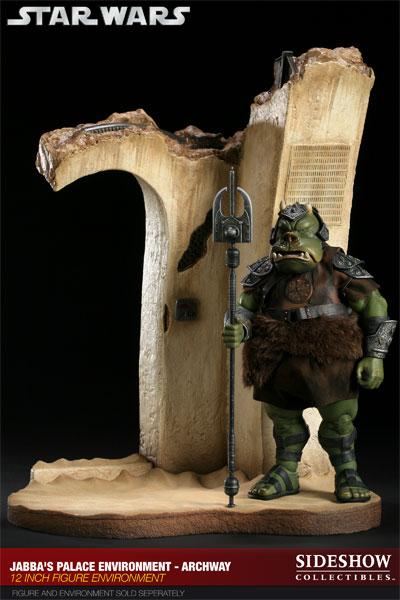 Sideshow - Gartogg Gamorrean Guard 12-inch & Jabba's Palace 10005114
