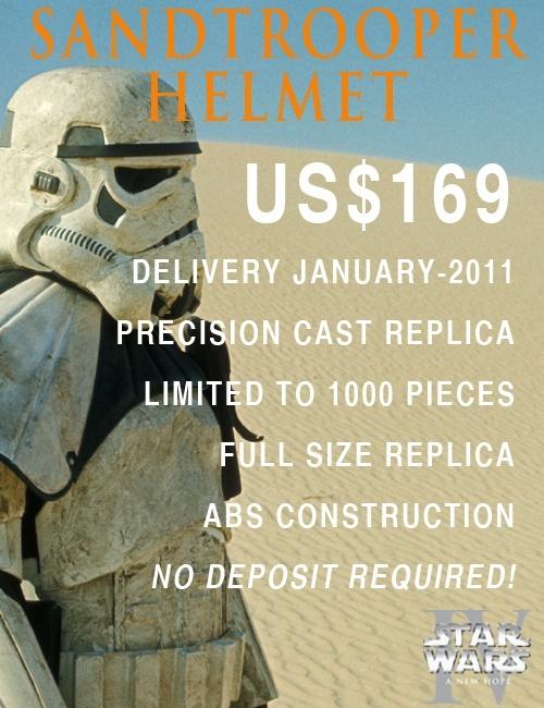 Efx : SandTrooper Helmet Precision Cast Replica 111
