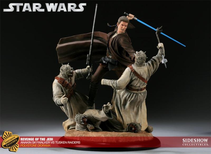 Sideshow - Revenge of the Jedi – Polystone Diorama 20011210