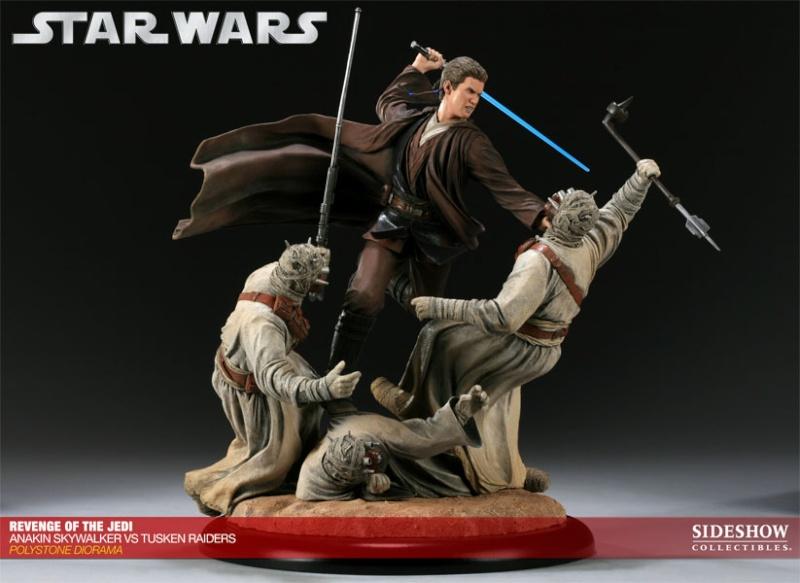 Sideshow - Revenge of the Jedi – Polystone Diorama 20011213