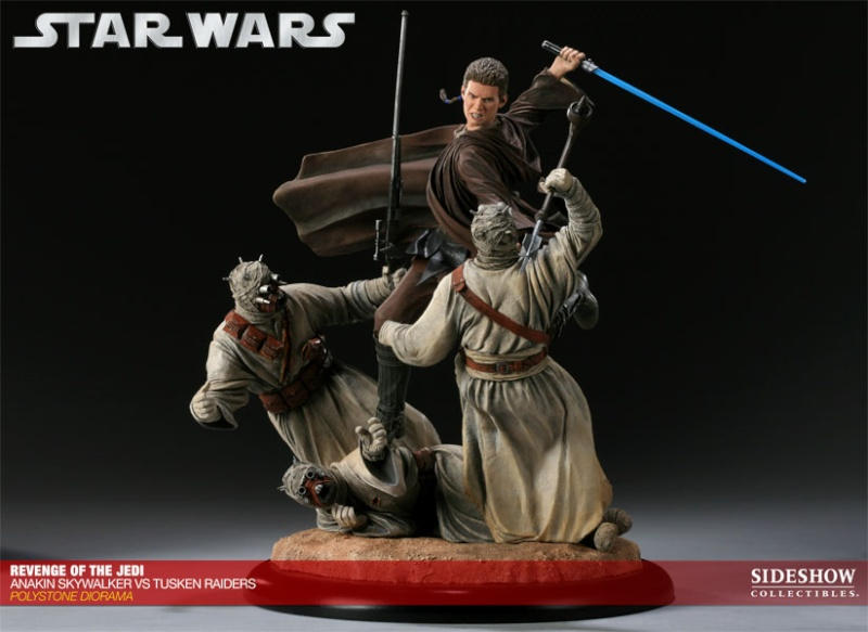 Sideshow - Revenge of the Jedi – Polystone Diorama 20011214