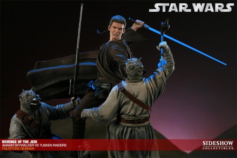 Sideshow - Revenge of the Jedi – Polystone Diorama 20011216