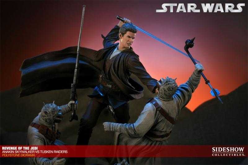 Sideshow - Revenge of the Jedi – Polystone Diorama 20011217