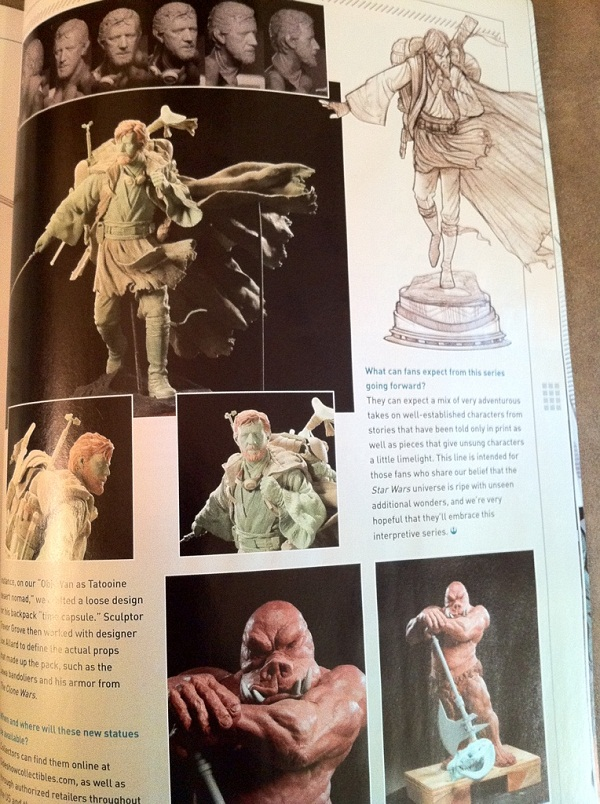 Nouvelle Gamme de Sideshow : Les Statues 3e5bae10