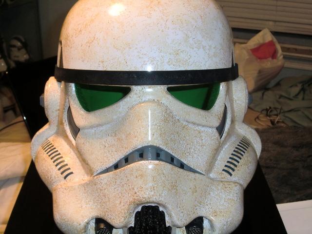 Efx : SandTrooper Helmet Precision Cast Replica Cimg0110