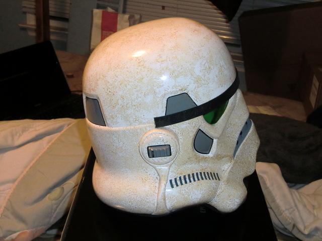 Efx : SandTrooper Helmet Precision Cast Replica Cimg0111