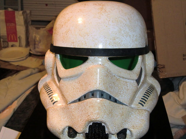 Efx : SandTrooper Helmet Precision Cast Replica Cimg0113