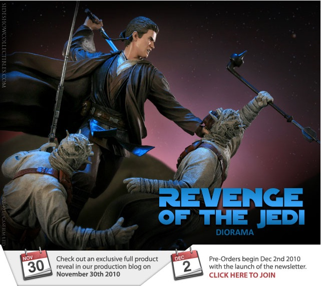 Sideshow - Revenge of the Jedi – Polystone Diorama Rotj10