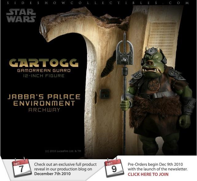 Sideshow - Gartogg Gamorrean Guard 12-inch & Jabba's Palace Sans_t10