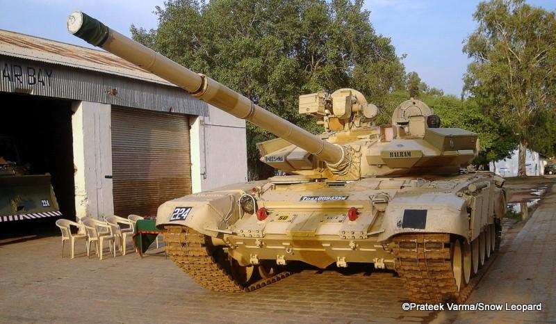 T-90 tanks in Indian Army Bhishm11