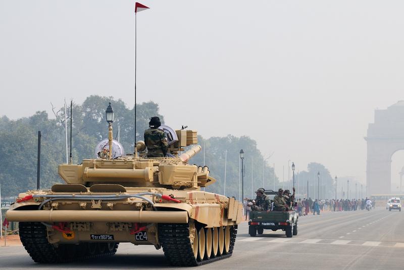 T-90 tanks in Indian Army Bhishm14