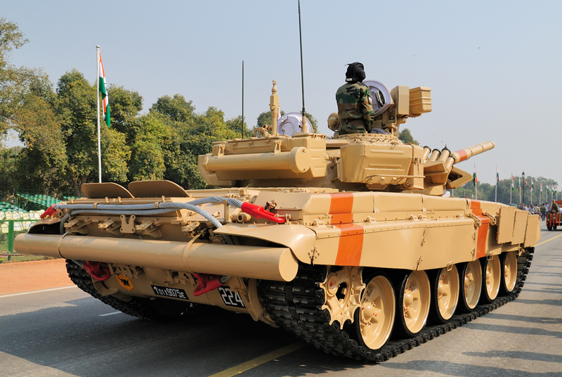T-90 tanks in Indian Army Bhishm15