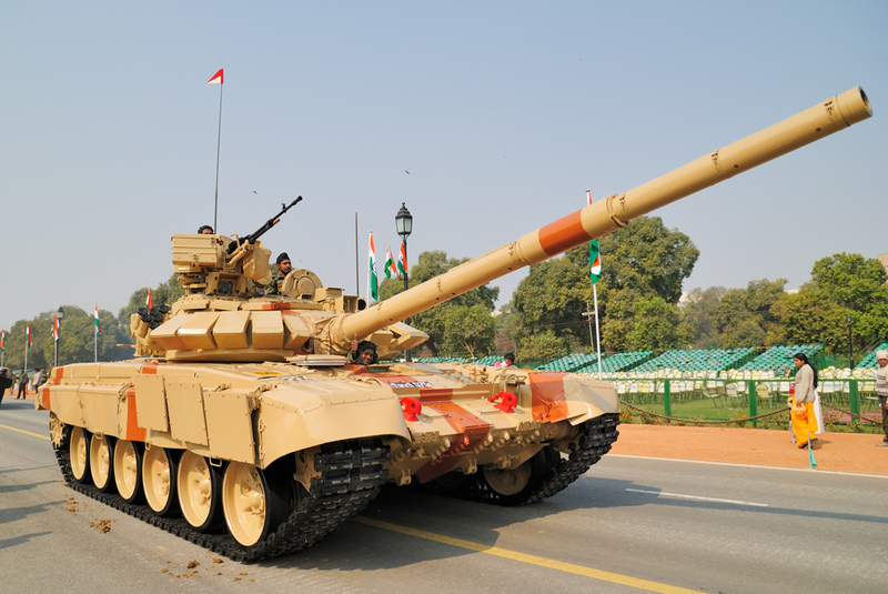 T-90 tanks in Indian Army Bhishm16