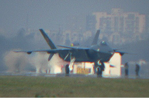 Chengdu J-20 Stealth Fighter Front-10