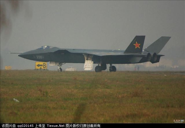 Chengdu J-20 Stealth Fighter J-20-113