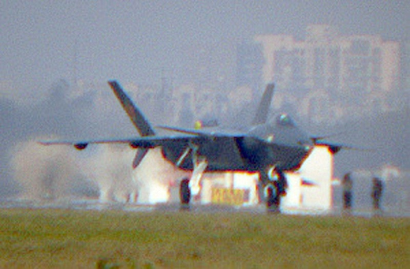 Chengdu J-20 Stealth Fighter J-20-210