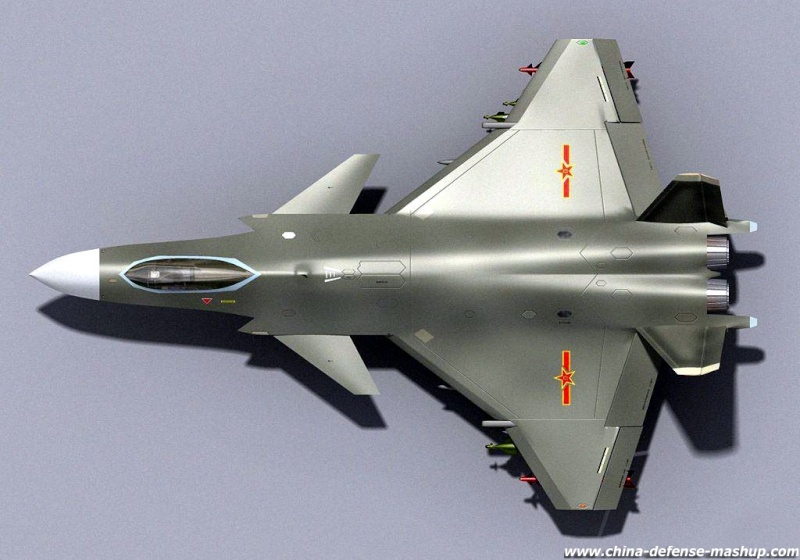 Chengdu J-20 Stealth Fighter J-20-312