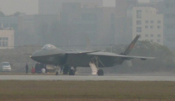 Chengdu J-20 Stealth Fighter J-20-610
