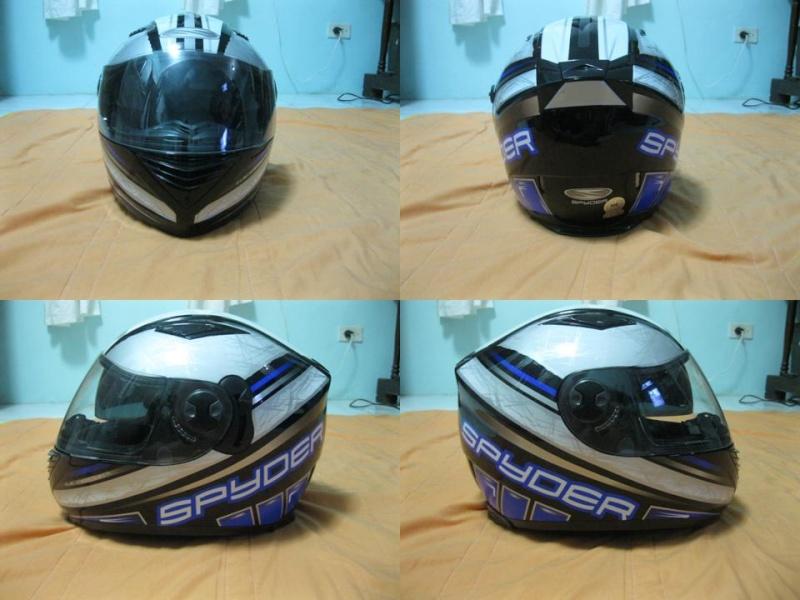 For sale: Spyder helmet Helmet30