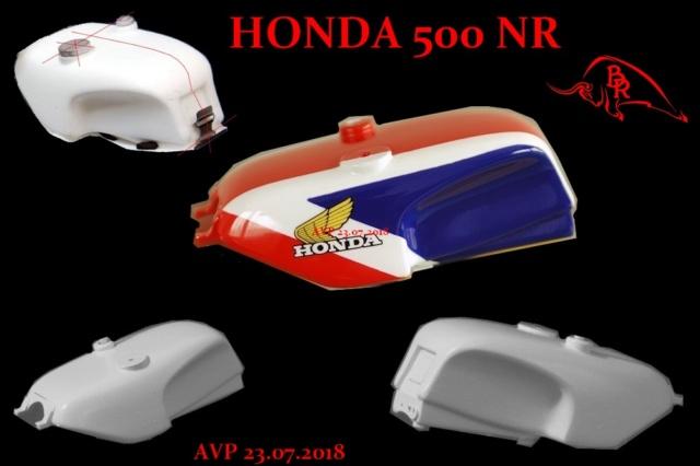 Honda 500 NR BISON ROUGE 2018 A 2020 Large_10