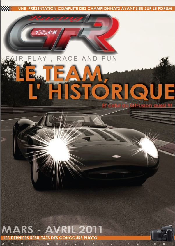 Journal N°1 Association GTracing GT5 Couver10