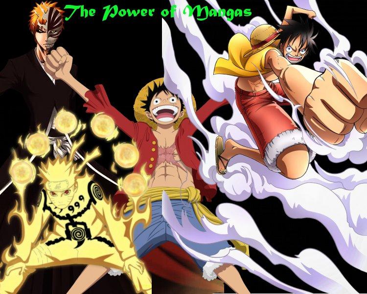 "Demande de partenariat"" The Power of Mangas"" F10"