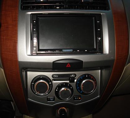 ac knob and back up camera upgrade from ebay Ac310