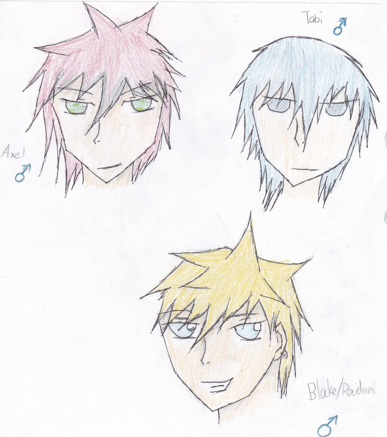 OCs (dont worry Tatii they arent atagonists XD) Axelto10