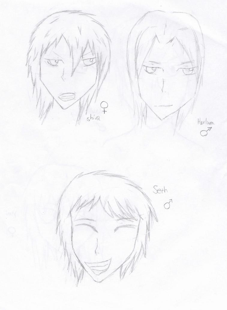 My Oc:Antagonists Shivah10
