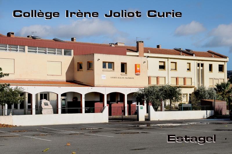 Le College Irène Joliot Curie d'Estagel