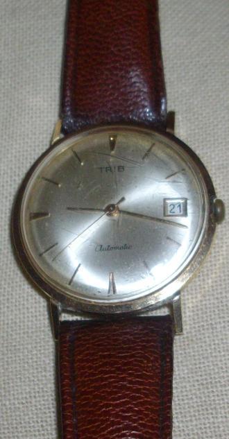 Restauration d'une montre TRIB 114