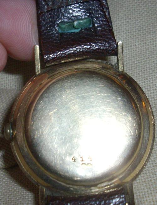 Restauration d'une montre TRIB 214