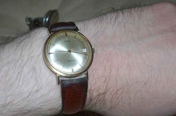 Restauration d'une montre TRIB 414