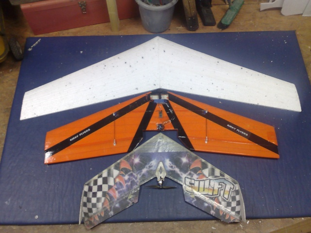 New flying wing design 20032015