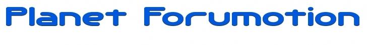 Planet Forumotion Banner10