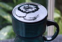 Alsterfors (?) Tapering Blue Glass Vase 1970's Dscf6213