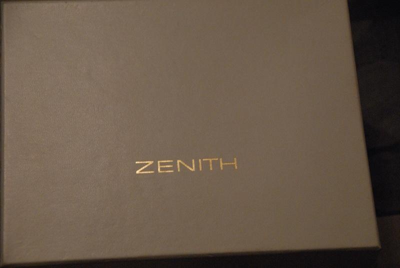 Zenith Chronomaster - WAAAAH! Montre14