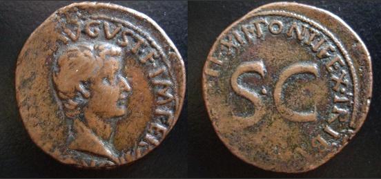 Les monnaies d'Eltom As_de_10