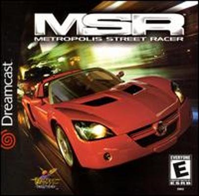 Metropolis Street Racer - Dreamcast Metrop10