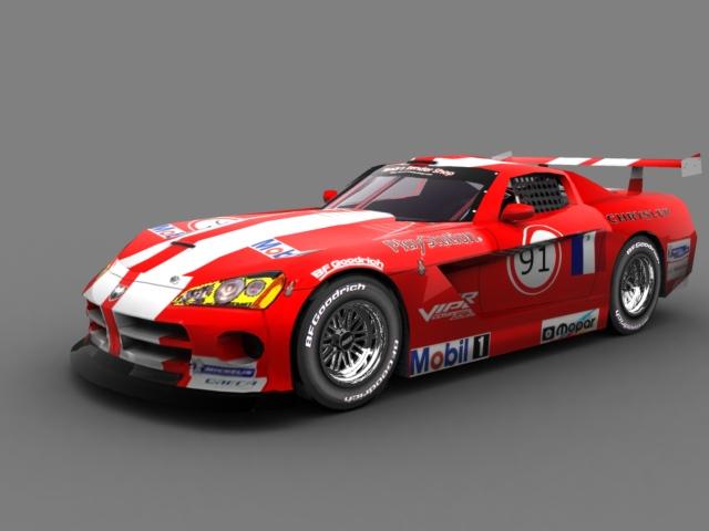#91 Team Oreca Dodge Viper Team_o10