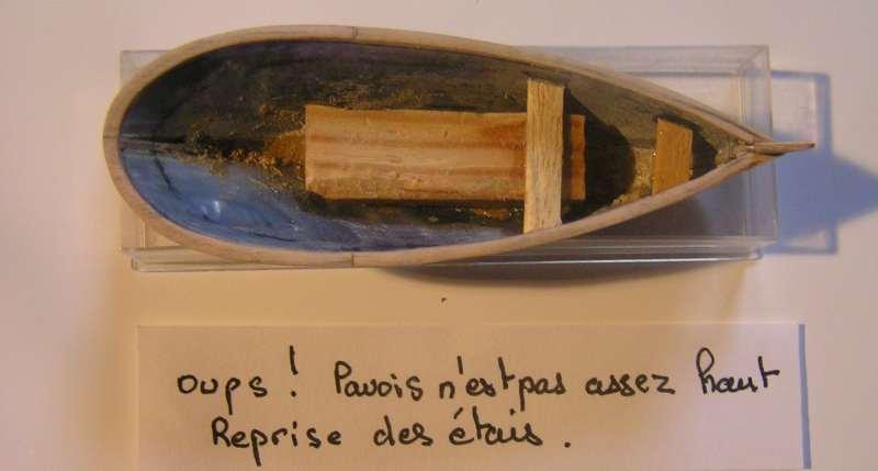"""Mise en chantier de """"Le leudo"""" au 1/220 L1912"""