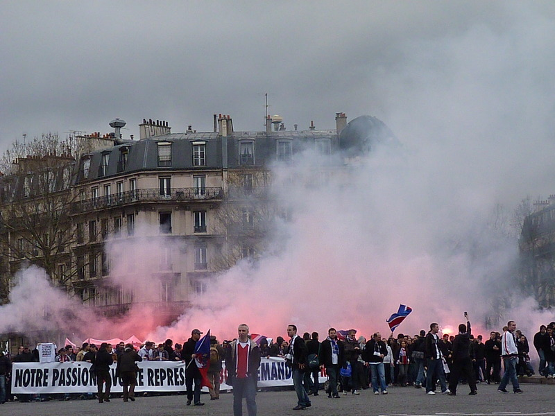 [Video & Photo] manif ultras P1140010