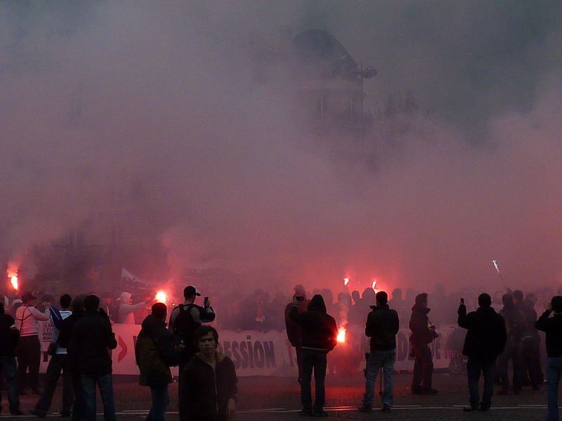 [Video & Photo] manif ultras P1140011