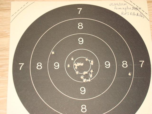 US Small Bore (22lr) History : Remington: 513 T, Mod 37, 40x  VS  Winchester 75, 52 Dsc00746